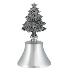 CHRISTMAS TREE HANDLE BELL 4.25