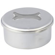 """DOG BONE BOX / LID 3.5"""" DIA"""