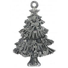 CHRISTMAS TREE SCULPTURED ORNAMENT