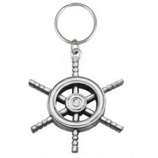 SHIP WHEEL - KEY RING