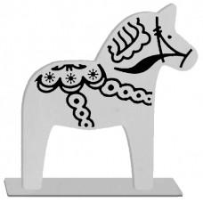 "STANDING DALA HORSE 3.25"" WIDE X 3"" TALL"