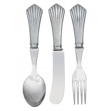 DECO CUTLERY SET 3 PC. SET  5.25""