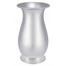 "TULIP SHAPE VASE 4"" DIA FOOTED 6.45"""