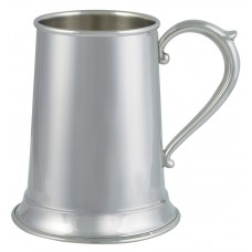 "ENGLISH HANDLE TANKARD 3"" DIA X 5"" 16 OZ"