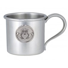 "CLADDAGH CHILD CUP 2.5"" DIA X 2.375"" 5 OZ"