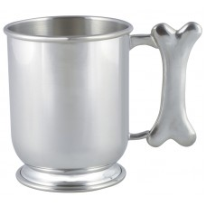 "DOG BONE HANDLE MUG 3.675"" DIA X 4.25"" 16 OZ"