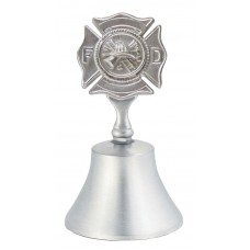 FIRE DEPT BADGE BELL 3.875