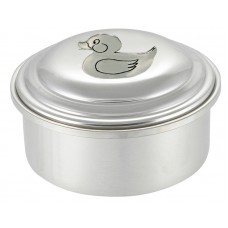 "RUBBER DUCK BOX / LID 3.5"" DIA"