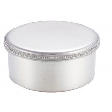 "ROUND BOX / LID BEADED 3.5"" DIA"