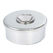 "APPLE ROUND BOX / LID 3.5"" DIA"