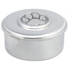 """PAW PRINT BOX / LID 3.5"""" DIA"""