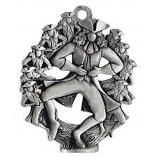 10 LORDS LEAPING SCULPTURED ORNAMENT