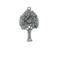 PARTRIDGE IN A PEAR TREE SCULPTURED ORNAMENT